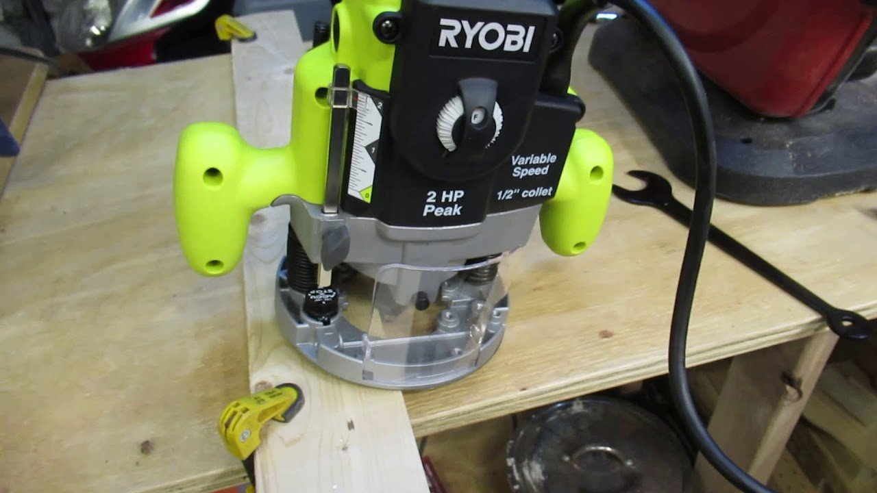 Best Ryobi Plunge Routers Comparison